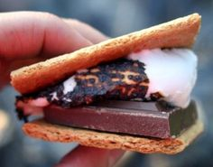 Build a Bonfire and make s'mores when camping