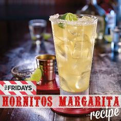 How to make TGI Friday's Hornitos Margarita at home // LivingMiVidaLoca.com #TGIFAmbassador #CincoDeMayo