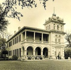 National Trust for Historic Preservation's first historic site in Texas - Villa Finale; the 6,500 square-foot home and its collection of fine and decorative arts is in the King William district.