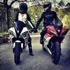 - Motorcycle is a passion - # for . - Bikes and Bikes with girls - Best Motorrad - Motorcycle Couple Moto, Bike Couple, Motorcycle Couple, Motorcycle Bike, Motocross Couple, Lady Biker, Biker Girl, Pit Bike, Racing Moto
