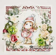 Christmas candle Tilda ❀ I am roses