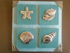 Art & Custom Works - pewter seashells