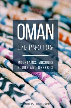 Oman Photography: 59 Epic Images to Inspire Your Visit Dreaming of a trip to This Middle Eastern country is the perfect place for a road trip—and, it's a photographer's delight. Here are my top Oman photos to inspire you to visit! Travel Advice, Travel Guides, Travel Tips, Travel Hacks, Oman Travel, Asia Travel, Eastern Travel, Middle East Destinations, Travel Destinations