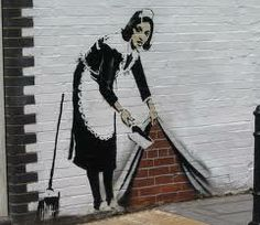 street art. Neat and tidy.
