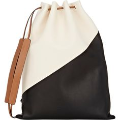 Marni Colorblocked Knapsack ($1,820) ❤ liked on Polyvore featuring bags, backpacks, multi, flat bags, colorblock backpack, detachable backpack, color block bag and backpacks bags