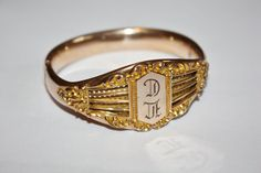 Victorian Bracelet Rose Gold Bangle Hinged 1900s Fine by patwatty, $80.00