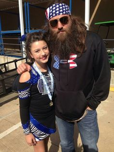 Bella and Willie Robertson Bella Robertson, Willie Robertson, Robertson Family, Duck Dynasty Sadie, Duck Dynasty Family, Justin Martin, Miss Kays, West Monroe, Duck Calls