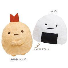 NEW Cushion Soft Pillow Reversible Shrimp Rice Ball Sumikko Gurashi Living Sofa | eBay