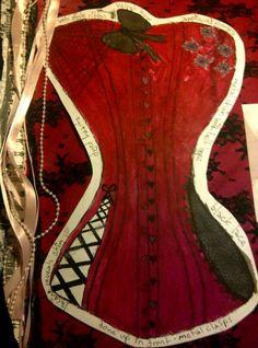 Project: Fashion  A corset design
