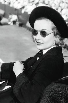 Carole Lombard at the Los Angeles Tennis Club, 1935.