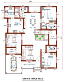 285 Best Indian house plans images in 2019 | Indian house ...
