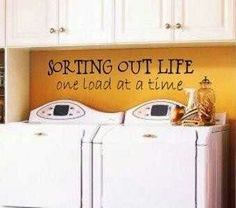 love this for the laundry room