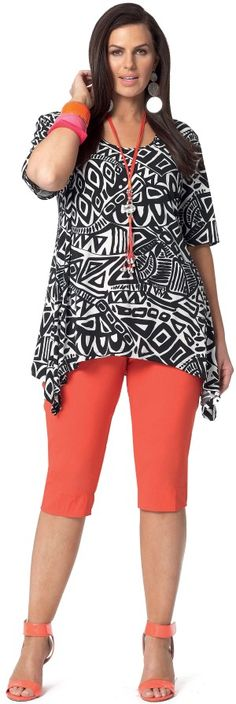 Emme Holiday Tribal Top