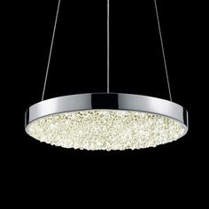 Dazzle 12 Inch Round LED Pendant Light