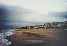 photo of pre-stormy seacoast