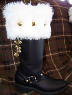 Custom Santa Boots