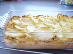 10x slovenské francúzske zemiaky Healthy Recipes, Healthy Food, Macaroni And Cheese, Vitamins, Pie, Vegetables, Ethnic Recipes, Lunch Ideas, Healthy Foods