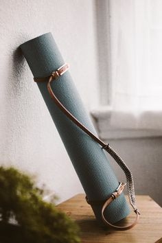 Hazelnut Yoga Mat Strap Fast and convenient way to carry your mat to and from your practice. Easy to store and ideal for travel. Customizable strap and