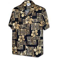 chemise hawaienne ...Hapuna beach