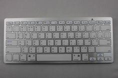 78-key bluetooth keyboard with Russian language.