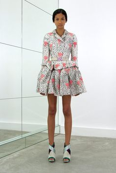 Balenciaga Resort 2010 Fashion Show - Chanel Iman