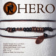 Image of HERO NTIO Bracelet - for Father, Lover, Son or Brother