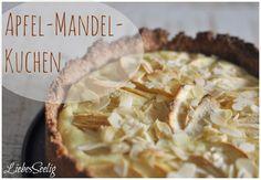 LiebesSeelig: Ich back's mir... Saftiger Mandel-Apfelkuchen #ichbacksmir #apfelkuchen #apple