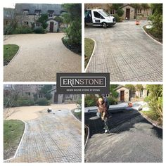 Resin Driveway, Stone Driveway, Stone Path, Resin Gravel, Kerb Appeal, Block Paving, Glass Balustrade, Swansea, South Wales