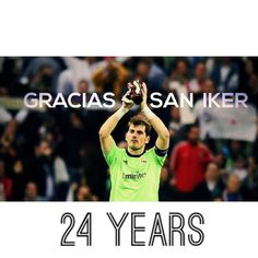 It's Official: Real Madrid captain IKER CASILLAS is leaving Real Madrid C.F. for F.C. Porto, after 24 glorious years at the club. Gracias San Iker. #24years #capitan #saniker #graciassaniker #ikercasillas @ikercasillasoficial #realmadrid #realmadridcf #legend #mysportbible #fcporto #football #soccer