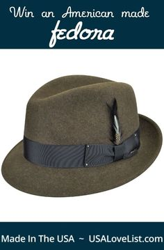 Win an American made hat for yourself or as a great gift.