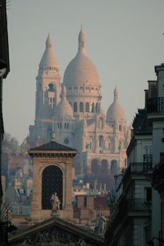 Paris, what more is there to say?  Very early one morning... Didn't realise it was the Sacre Cour at the time...