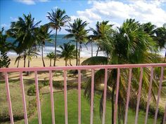 Our beach front porch view.