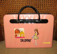 Rare Japanese Exclusive Vinyl Skipper Case from the collection of Leslie Bote
