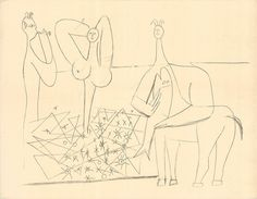 Pablo Picasso, Mes Dessins D'Antibes, 1958, ArtWise