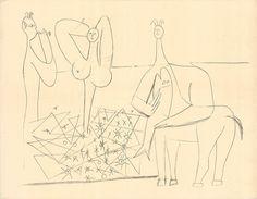 Pablo Picasso, Mes Dessins D'Antibes, 1958, ArtWise