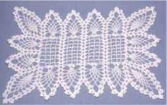Maggie's Crochet · Pineapple Placemat and Table Topper Pattern