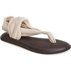 821d7fcb377b Sanuk  Yoga Metallic Sling  Sandal (Women)
