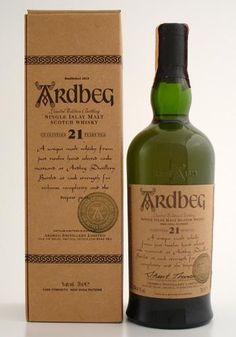 Ardbeg '21 Year Old Single Islay Malt Scotch Whisky'