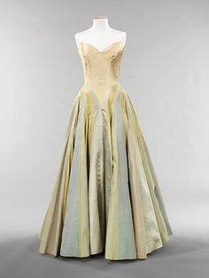 """""""Ribbon"""" by Charles James, 1947 US, the Met Museum"""