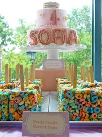What a fun birthday party idea!  My client wanted a slumber party themed dessert table for her little girl.  But the party was during the d...