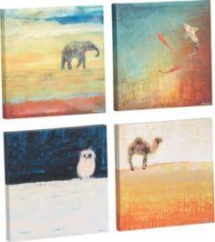 "Matthew Lew ""Safari Journey"" animal prints at CB2"