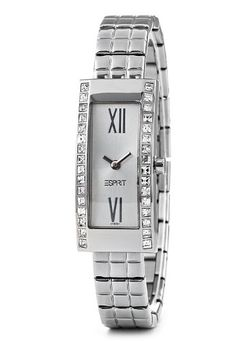 Esprit 4431758 - Reloj de mujer de cuarzo, correa de acero inoxidable color plata: Amazon.es: Relojes