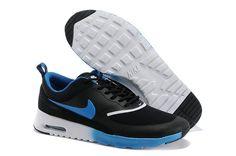 cheaper 9a772 2d1ce Nike Air Max Thea Mens Black Royal Blue Nike Air Max Thea Schwarz, Cheap  Nike