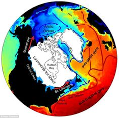 A new model of flood waters from the melting Laurentide Ice Sheet 13000 years ago shows how water first flowed north-west into the Arctic, weakening deep ocean circulation and leading to the Earth's last major cold period.