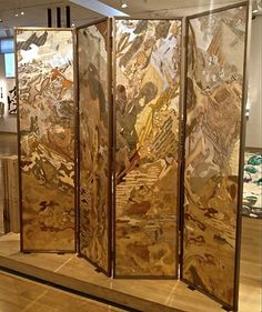 TODAY'S BEAUTIFUL: Verre Eglomise and the art of Miriam Ellner « Decor Arts Now