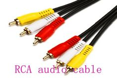 An RCA connector, sometimes called a phono connector or cinch connector, is a type of electrical connector commonly used to carry audio and video signals. https://plus.google.com/107728621584781847366/