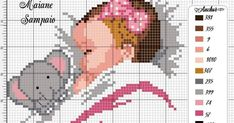 Baby Cross Stitch Patterns, Cross Stitch For Kids, Cross Stitch Baby, Cross Stitch Charts, Cross Stitch Designs, Cross Stitch Bookmarks, Cross Stitch Embroidery, Elephant Cross Stitch, Baby Images