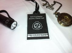 SCP ID card. Cool I want that.
