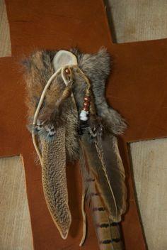 Leather Wall Cross Hunter's Cross by HollyHawkDesigns on Etsy, $49.00