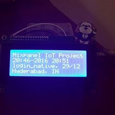 My Hack of the Day. This is too cool. Check it out. We wirelessly stream real time event data to the Pi on my desk :) #iZm #raspberrypi3 #nodejs #javascript #mongodb #software #maker #iot #data #build #hack #create #electronics #pi #raspberrypi @harsha.alva #creation #bring #ideas #to #life